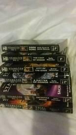 Stargate sg1 and atlantis books