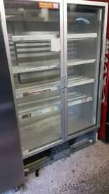 Carravell commercial double doors chiller fully working with guaranty in excellent condition