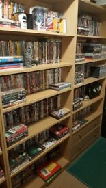 Huge Collection of Bluray and DVD Movies