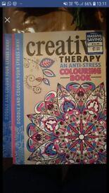 2 x colouring books