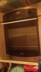 Belling oven silver in good condition and full working