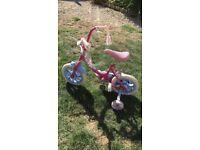 Girls toddler bike. First bicycle