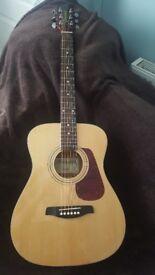 Brunswick BF200 Folk Acoustic Guitar Natural