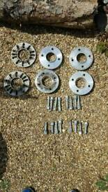 Ford focus wheel spacers
