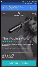 Cloud nine wave wand