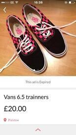 Ladies vans
