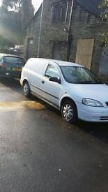 Vauxhall Astra Van 1.7 dti White Manual