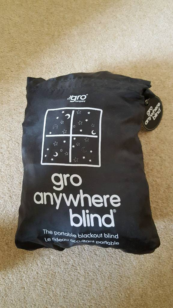 Gro anywhere blackout blond