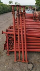 SIZE 1 ACROW PROPS 1.7m -3.0m HEAVY DUTY ACROWS JACK PROP STEEL, LONDON or MANCHESTER