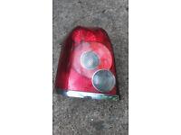 TOYOTA AVENSIS 2007 ESTATE, PASSENGER SIDE REAR LIGHT LAMP CLUSTER