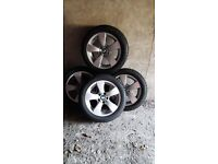 REDUCED! 4 BMW Alloy Wheels & Dunlop Sport Winter Tyres REDUCED!