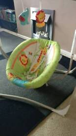 **fisher price swing chair**