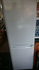 INDESIT FRIDGE/FREEZER [ as new just over a year old immaculate ] H 1740mm x W 600mm x D 660mm