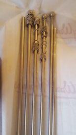 Curtain poles - various lengths