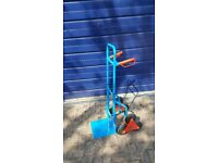 F olding Stair Climber Hand Sack Truck 6 Wheel Trolley Cart Heavy Duty