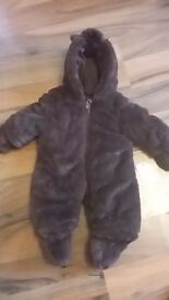 Beautiful Newborn snowsuit from Mothercare BNWT