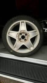 Seat Ibiza Cupra wheel