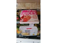 Juicer and Juicer Recipe Book