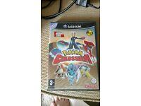 Pokemon colosseum and pokebox gamecube game