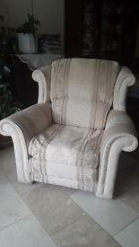 Three-piece sofa set in good condition