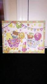 Shopkins canvas