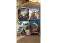 various blu ray films,
