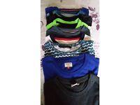 8 lots of boys shorts and tee shirts - each bundle £15.00