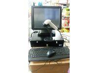 cashier till digital touch screen
