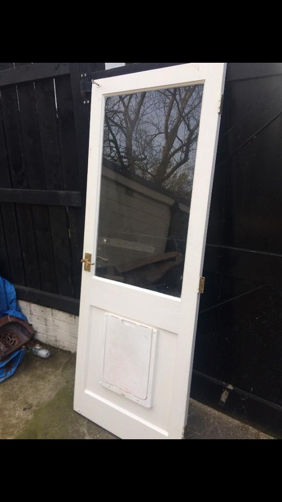 External Door With Dog Flap In Sheffield South Yorkshire Gumtree