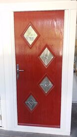Front Door (rock doors). ex display. Standard door size. Never been fitted.