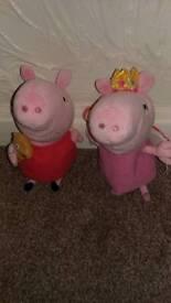 Peppa pig tedddies