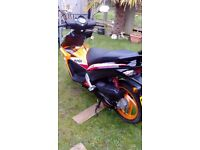 Honda NSC50R, excellent condition,low mileage,selling due to having a car.