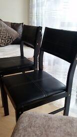 2 beautiful like new chairs