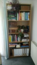 Ikea Billy bookcase in Oak colour