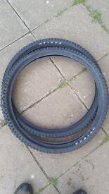 """Mountain Bike Tyres Various 26"""" & 29"""". Tioga, Schwalbe, IRC"""