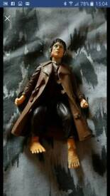 Lord of the Rings Frodo action figure with coat on