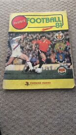 Rare 1981 Panini's Football Album