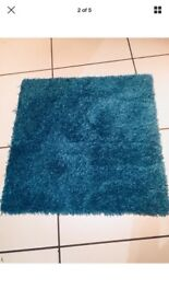Interface carpet tiles turquoise 16 Square metres fuffy and warm. Brand new some boxed some loose