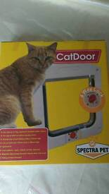Cat flap 150 X 150 opening, Brand new in box, for pets up to 7kg
