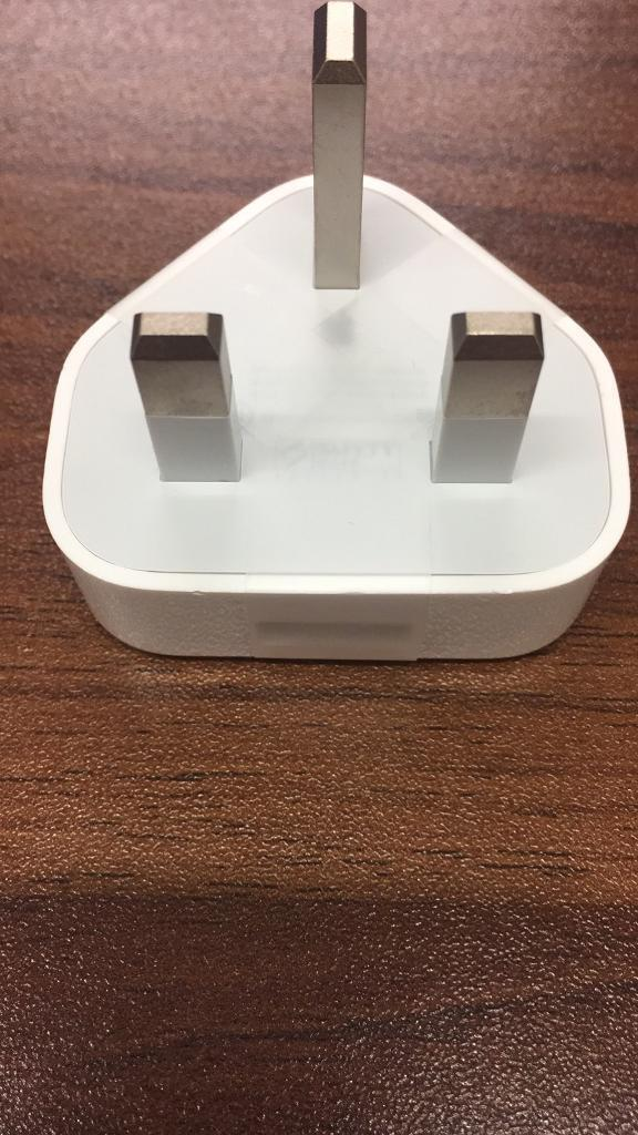 Original Apple charger head BRAND NEW with seals still attached