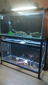 3ft fish tanks and stand
