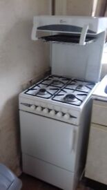 Flavel Free standing Oven, 4 ring hob and Grill