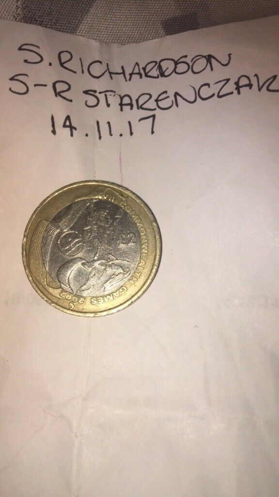 Northern Ireland Commonwealth £2