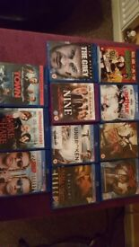 11 Various blu rays for sale