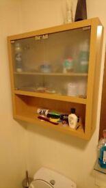 Cupboard in bathroom