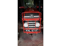 Massey Ferguson 135 Grill Guard, Red, freshly painted