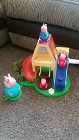 Peppa Pig Weebles house with Weebles