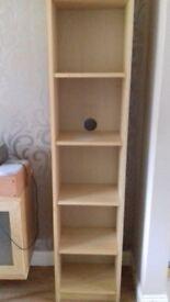 Ikea Billy birch bookcase