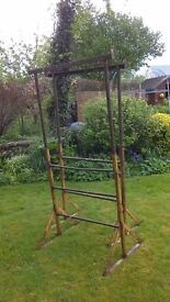 Steel Scaffold tower and trestles