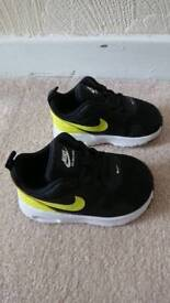 Nike toddler trainers size 4.5, can post etc